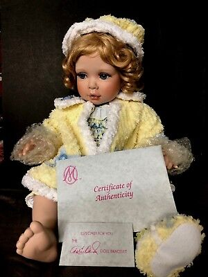"""Marie Osmond 2004 """"CHENILLE"""" Material Girls Series Doll~First In Series~14""""~EUC"""