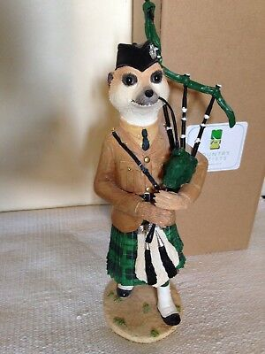 Country Artists Tam Magnificent Meerkat Ornament Scottish Rare Boxed