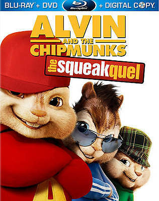 Alvin and the Chipmunks: The Squeakquel (Blu-ray/DVD, 2010)