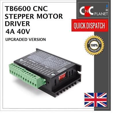 TB6600 Single Axis 4A CNC Stepper Motor Driver Controller 9~40V Micro-Step MACH3