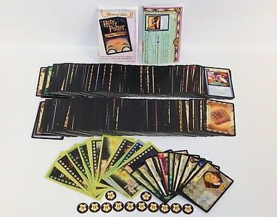Harry Potter Trading Card Game Lot 338 Cards (327 Regular, 11 Foil Holo) TCG CCG