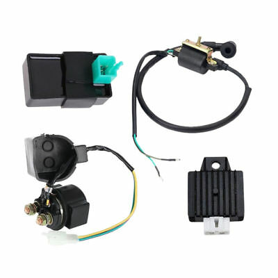 New Regulator Rectifier Relay Ignition Coil CDI 50cc 70cc 90cc 110cc ATV Quad