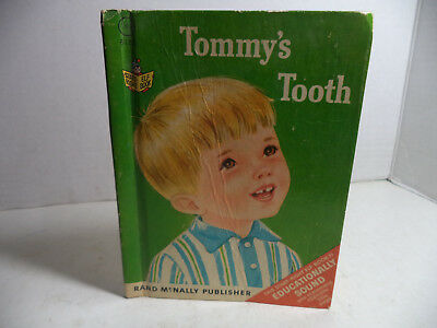 Tommy's Tooth Vintage Mini Hardcover Book First Edition 1967 VG Condition