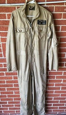 WWII vintage U.S. NAVY PILOT SUMMER FLIGHT SUIT SIZE 42 / LT CDR BILLIE DIXON