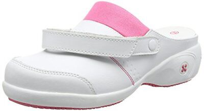 Oxypas Move Up Sandy Slip-resistant, Antistatic Nursing Clogs with Heel in Wh...