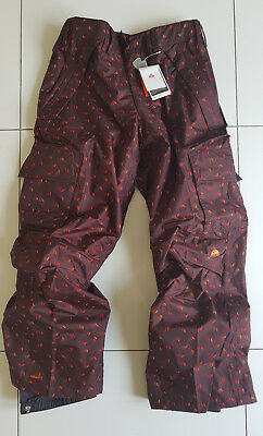 Nike Acg Storm Fit Snowboarding Ski Pants Trousers Snow Salopettes New Men's Xl