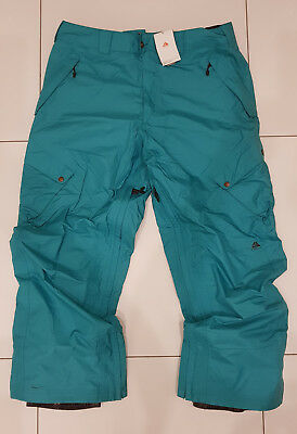 Nike Acg Storm Fit 5 Ski Pants Snowboard Trousers Green Salopettes Snow Men's Xl