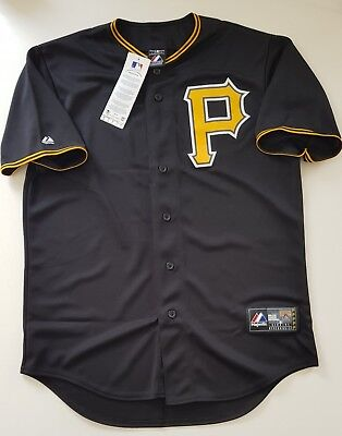 MAJESTIC Pittsburgh Pirates MLB Official Baseball Jersey Shirt Authentic Men's M