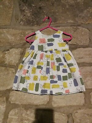 Stunning Baby Boden Pinafore Dress 3-6