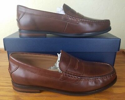 90406e52465 Cole Haan Grand Pinch Friday Contemporary Penny Loafer Mens Size 11 Brown