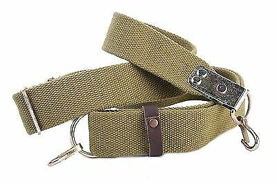 ORIGINAL RUSSIAN USSR AK-47, SKS, SVD RIFLE CARRYING SLING with 2 carabins! NEW!