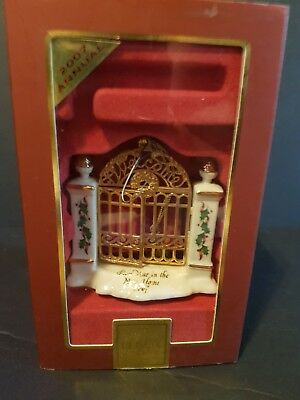 LENOX For The Holidays Annual Christmas Ornament~2007 First Year In The New Home
