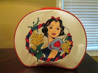 Vintage Disney Snow White Child's Girl's Overnight Bag Luggage Suitcase ADORABLE