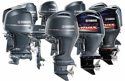 Yamaha Outboards Service Repair Manual 1984-2003