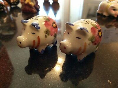 Rare Antique Salt & Pepper Shaker #21