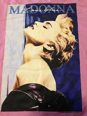 Vintage Madonna True Blue T Shirt Extra Small