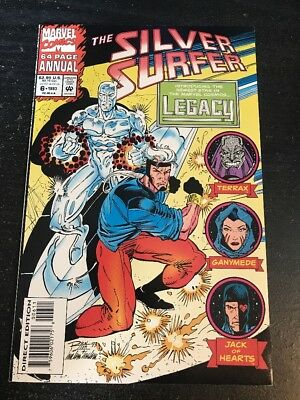 Silver Surfer Annual#6 Incredible Condition 9.4(1993) 1st Legacy App!!