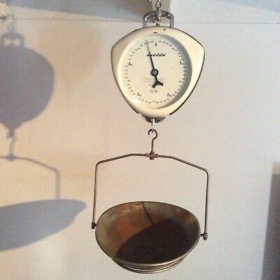 Salter antique hanging scales. Double sided. Model 236 T
