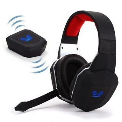 Wireless Stereo Gaming Headset Headphones with Mic Red For XBOX ONE PC PS4