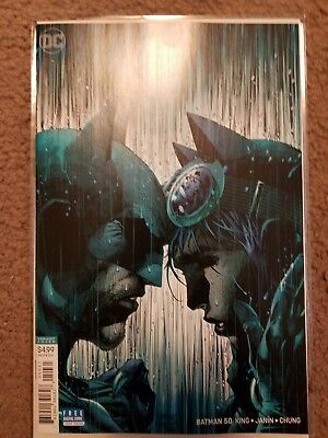 Batman #50 Variant JIM LEE Cover NEW DC Catwoman Wedding 2018 Comic