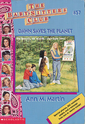 The Baby-Sitters Club #57: Dawn Saves the Planet by Ann M. Martin (2000, pback)