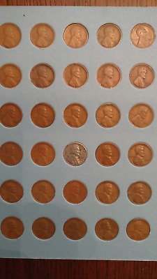 set of S mint Lincoln wheatback cents 1919-55 (all 30 are S mint)