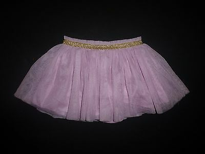 NWT Florabelle Baby Girls Purple Gold Tulle Tutu Skirt 18 Months