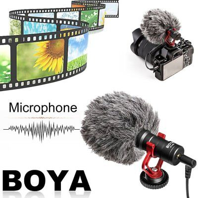 BOYA BY-MM1 Universal Cardiod Shotgun Pro Microphone for Canon Nikon Camcorder A