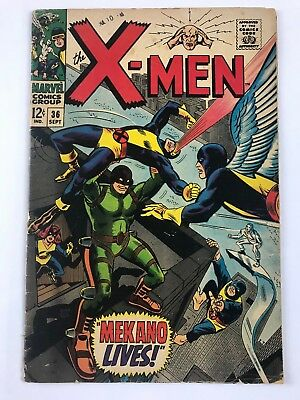 The X-Men #36 - Marvel 1967
