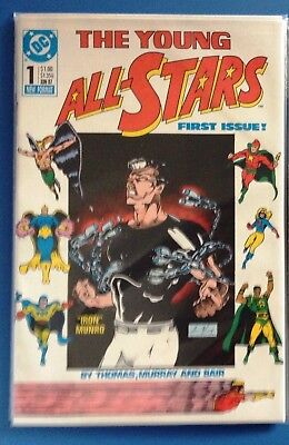 YOUNG ALL-STARS #1 (first appearance, All-Star Squadron Justice Society) 1987