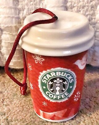 Starbuck's Red Hot Coffee Cup Holiday 2008 Ornament