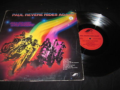 Paul Revere ( AND THE RAIDERS) Rides Again RARE COVER ART VARIATION HIT BOUND
