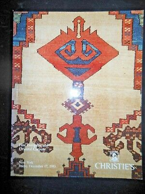 CHRISTIE'S European & Oriental Carpets Auction Catalog 1993 Persian Rugs Serapi
