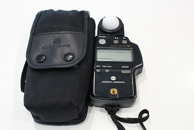 Pre-owned KONICA MINOLTA Auto Flash Meter V F - Made in Japan