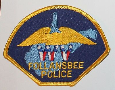 FOLLANSBEE POLICE West Virginia WV PD patch
