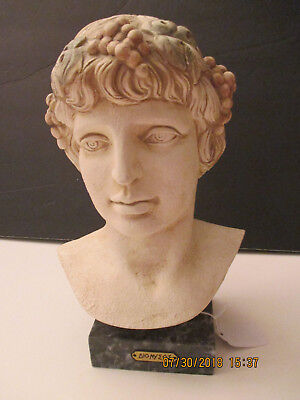 Bust Of Dionysus, Greek God Of Wine