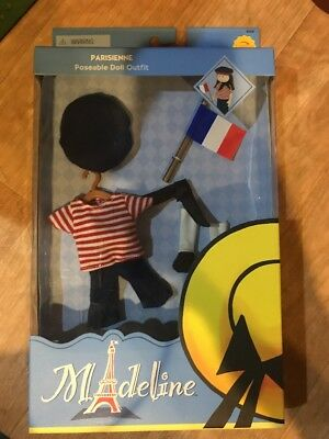"""MADELINE DOLL  OUTFIT FOR 8"""" Doll PARISIENNE OUTFIT  NEW in Box"""