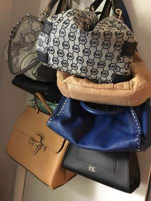 Lot of (7) Authentic Designer Handbags