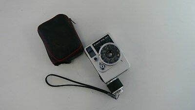 Canon Dial 35-2 Half Frame Wind 35mm Film Camera with Case