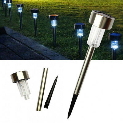 10pcs Waterproof Solar Lawn LED Lamp Garden Solar Power Light For Outdoor Yard