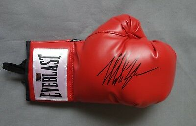Mike Tyson Autograpged Boxing Glove & COA - Hand Signed