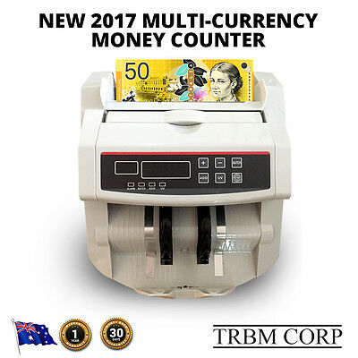 Money Counting NOTE COUNTER Machine Multi Automatic Digital Counterfeit Detect