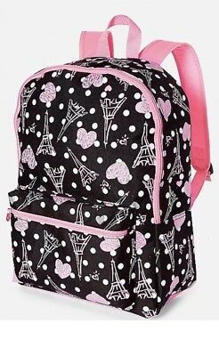 Justice Paris Backpack- New! School Bag