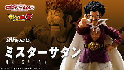 BANDAI Premium S.H.Figuarts Dragon Ball - Mr.Satan Action Figure