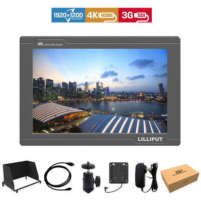 Lilliput FS7 7-inch 1920x1200 DSLR Camera Field Monitor 4K HDMI 3G-SDI
