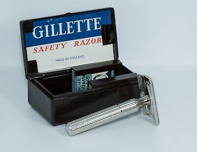 Gillette Safety Razor Tech Set 1948 - Rasoio - Rasoir - Rasier