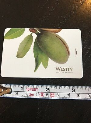 Westin Hotel Room Key Card #2