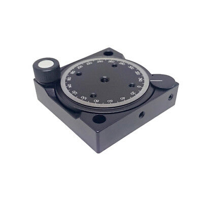 NEW Gear Manual Rotary Table Stage Platform Rotating Table Stage Platform 50.8mm