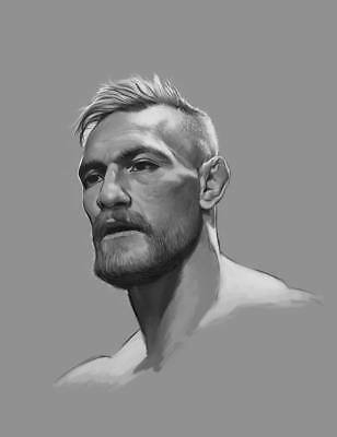 "TY04476 Conor McGregor - Irish MMA UFC Featherweight Champion 14""x18"" Poster"