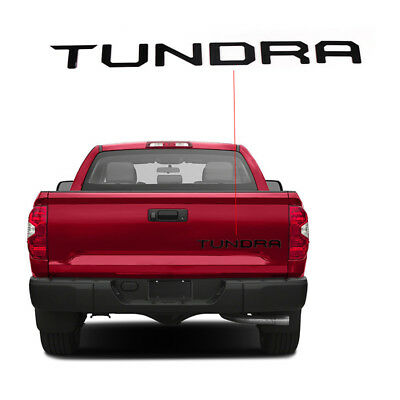 BID Tailgate Letter Decal Stickers for 2014 2015 2016 2017 Toyota Tundra Molding